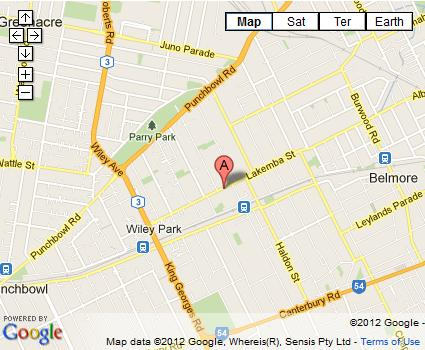 map 206 goc lakemba image